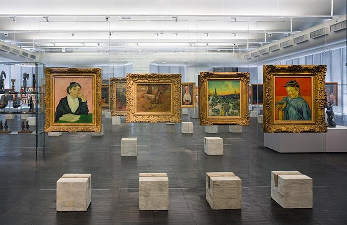 MASP museum gallery