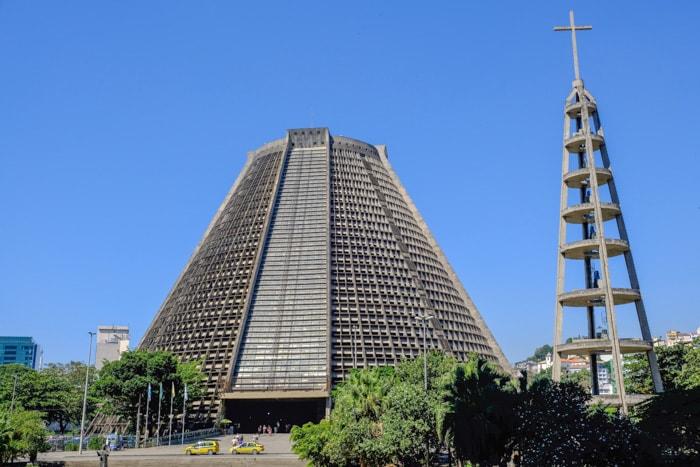 Metropolitan Cathedral in Rio de Janeiro