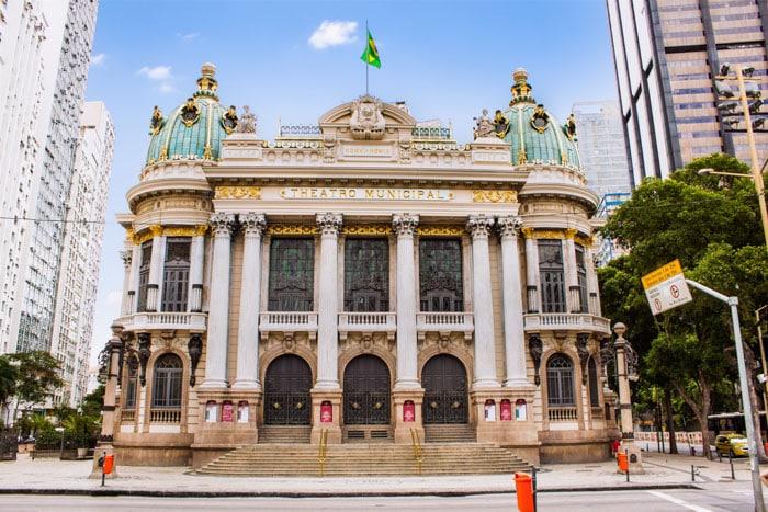 Municipal Theater in Rio de Janeiro