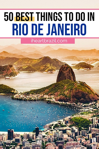 Things to do in Rio de Janeiro Brazil Pinterest graphic