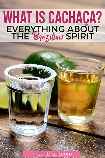Cachaça, Brazilian spirit Pinterest graphic