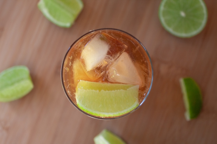 Caipirissima recipe with white rum