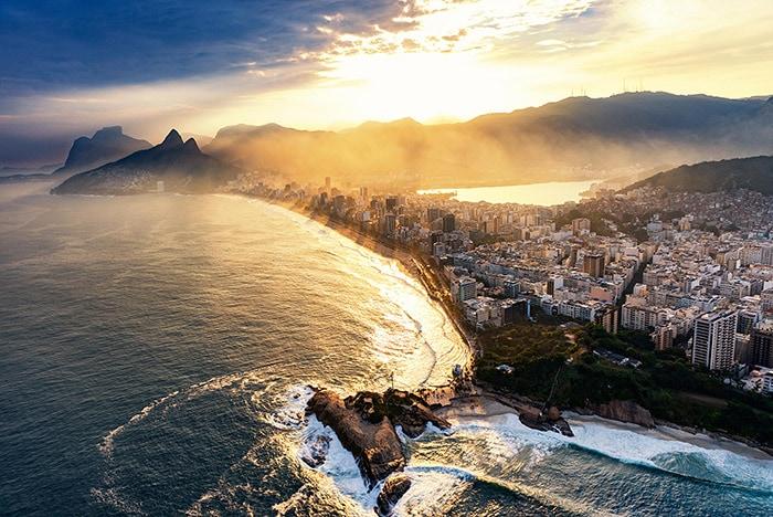 Helicopter tour in Rio de Janeiro