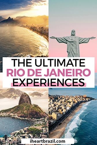 Rio de Janeiro Tours Pinterest graphic