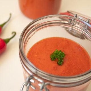 Homemade Brazilian hot sauce