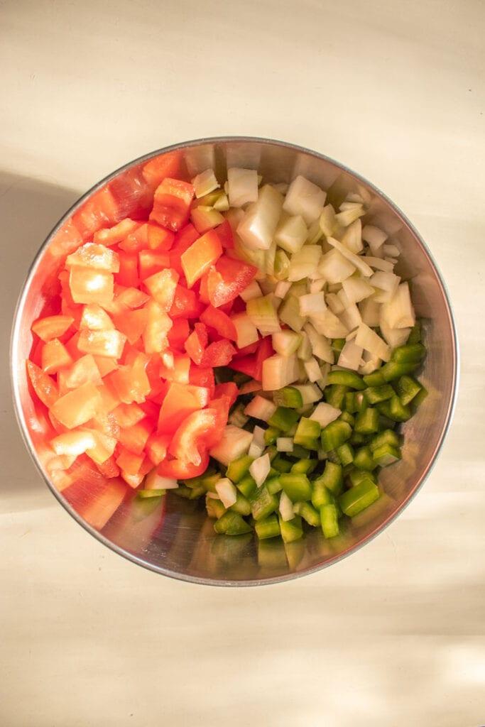 Vegetables Brazilian salsa