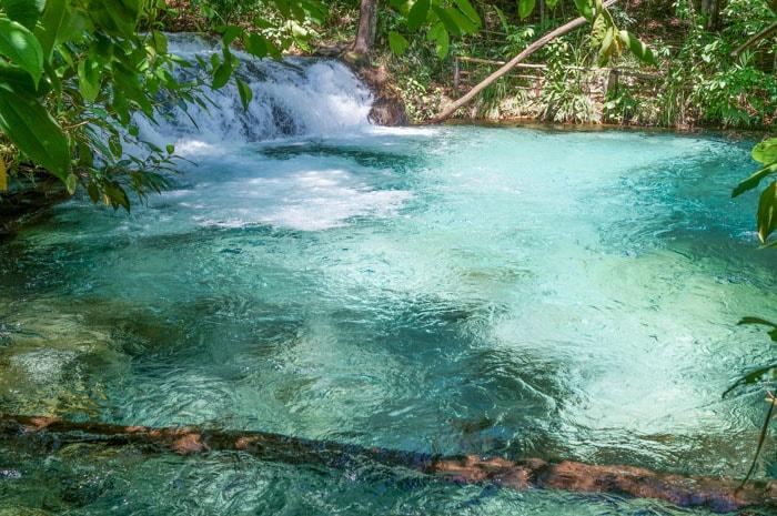 Formiga Falls near Jalapão State Park, Tocantins