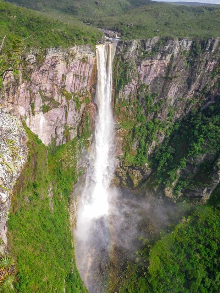El Dorado Falls in Amazonas