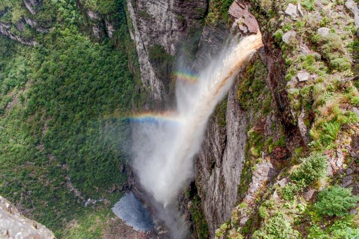 Fumaça Falls in Chapada Diamantina, Bahia