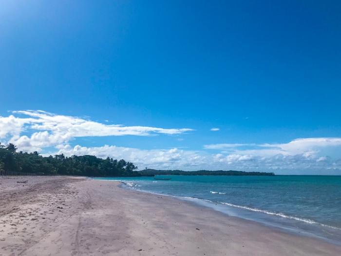 Beach in Boipeba, Bahia
