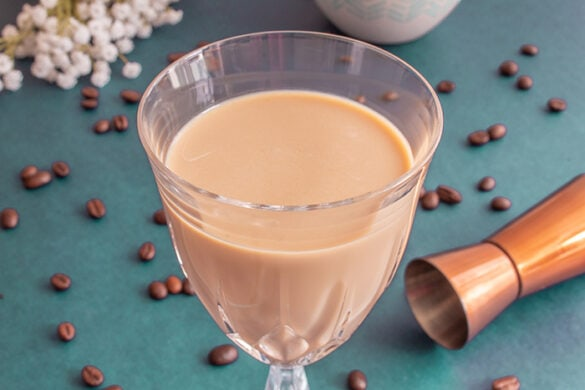 Brazilian coffee drink with alcohol