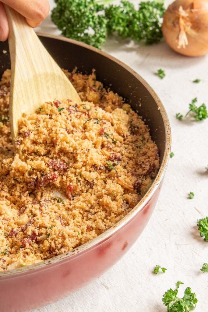 Brazilian farofa recipe