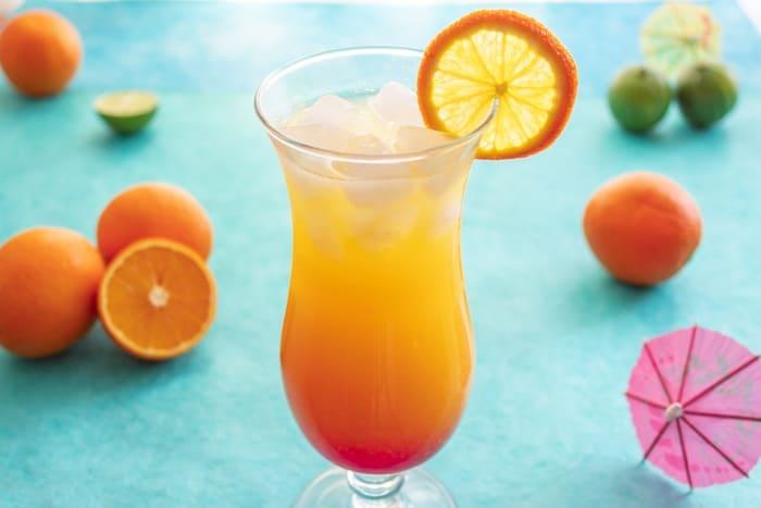 Brazilian Sunrise Cocktail