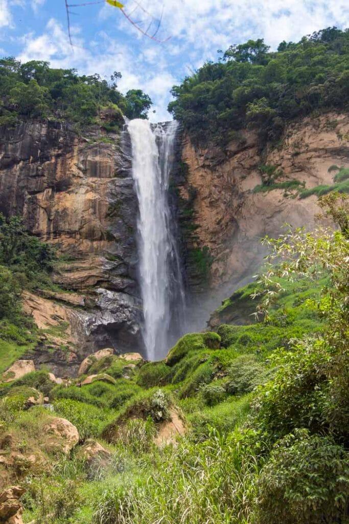 Conde D'eu Falls in Rio de Janeiro