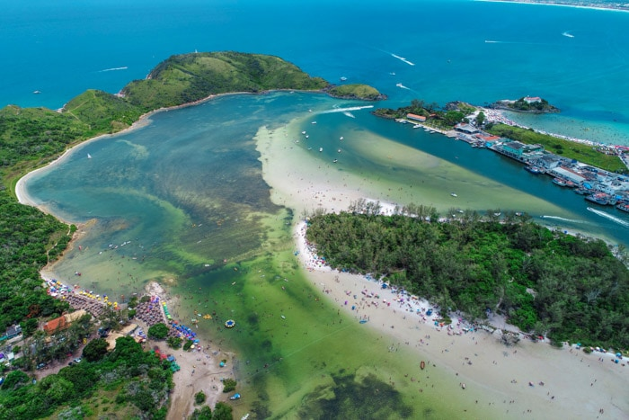 Japanese Island in Cabo Frio