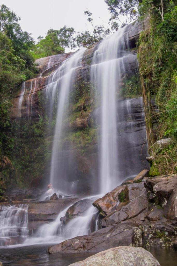 Macumba Falls in Rio de Janeiro