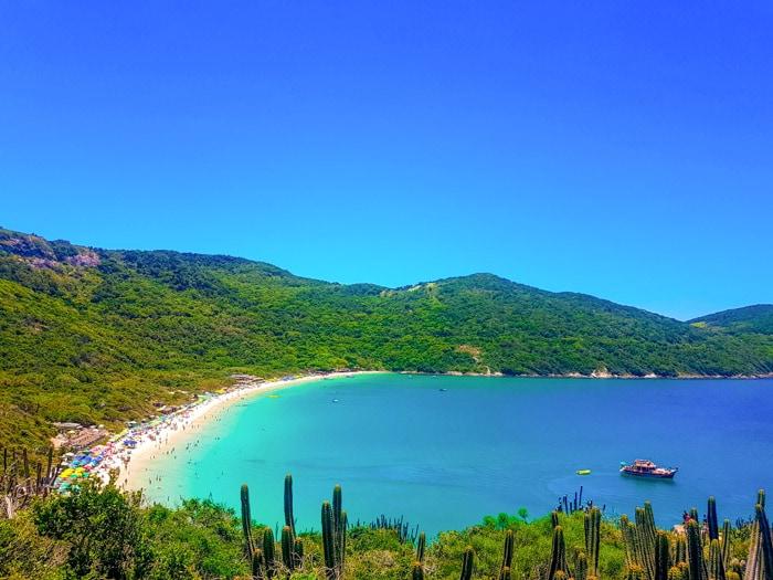 Forno Beach in Arraial do Cabo