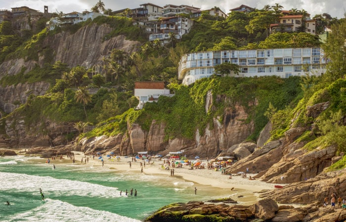 Joatinga Beach in Rio de Janeiro