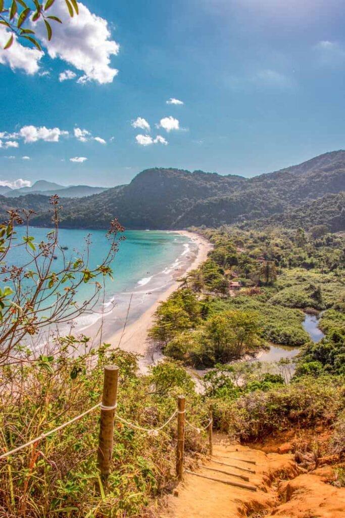 Sleeping Beach in Paraty
