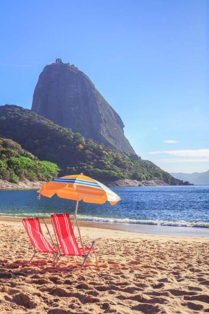 Red Beach in Rio