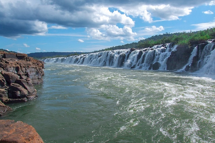 Salto Yucumã in Rio Grande do Sul