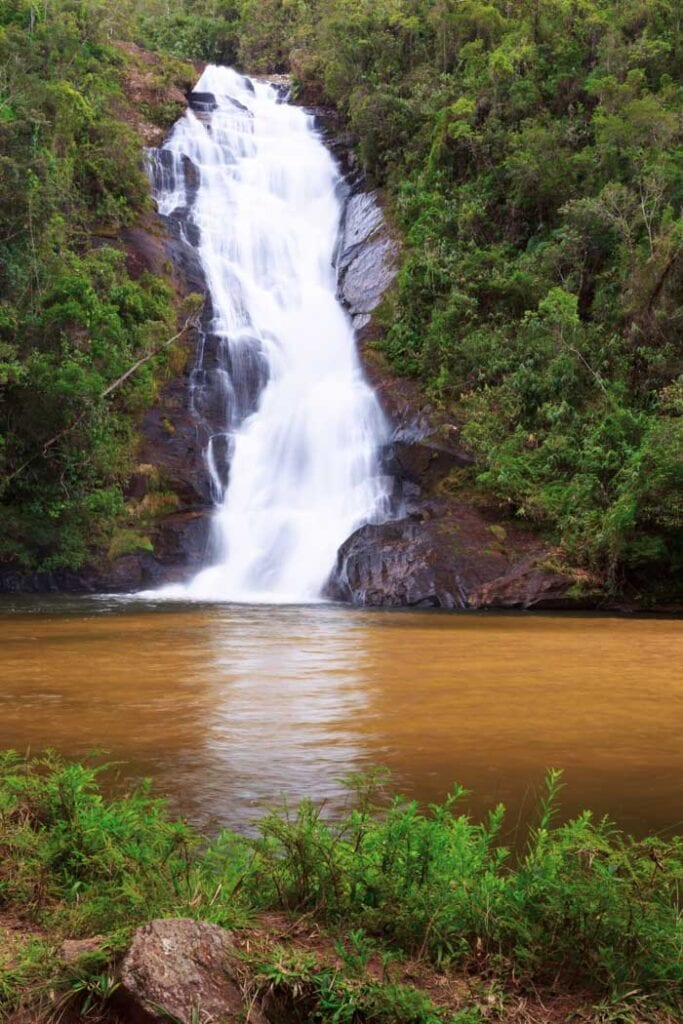 Santo Izidro Falls in São Paulo