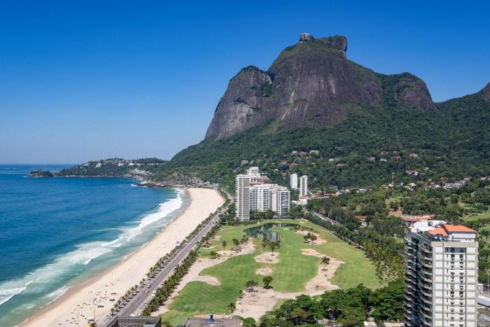 São Conrado Beach in Rio