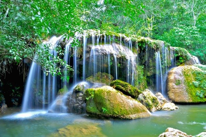 Sinhozinho Falls in Bonito, Mato Grosso do Sul