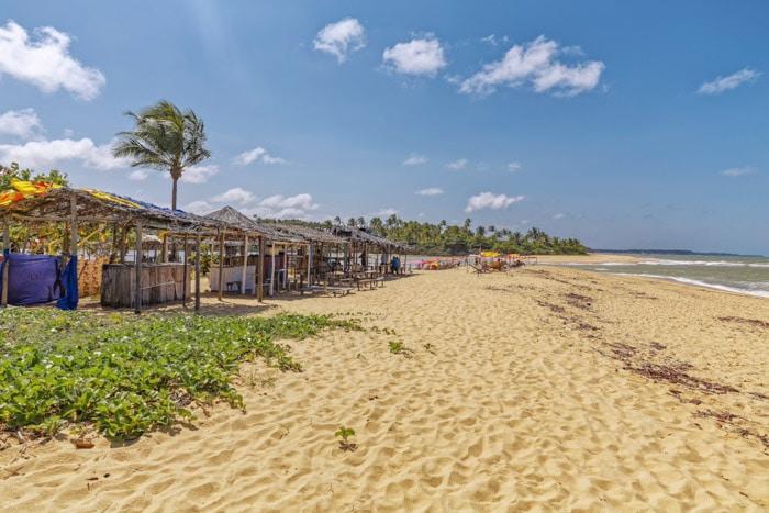 Caraíva Beach in Bahia