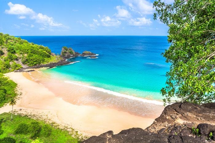 Sancho Beach in Brazil, Fernando de Noronha, Pernambuco