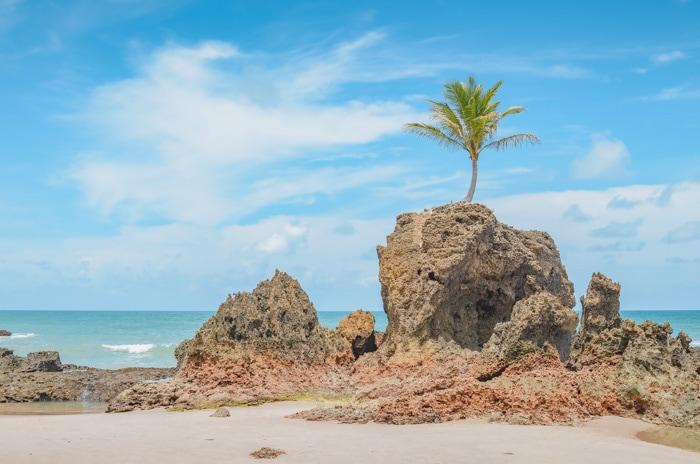 Tambaba Beach in Paraíba