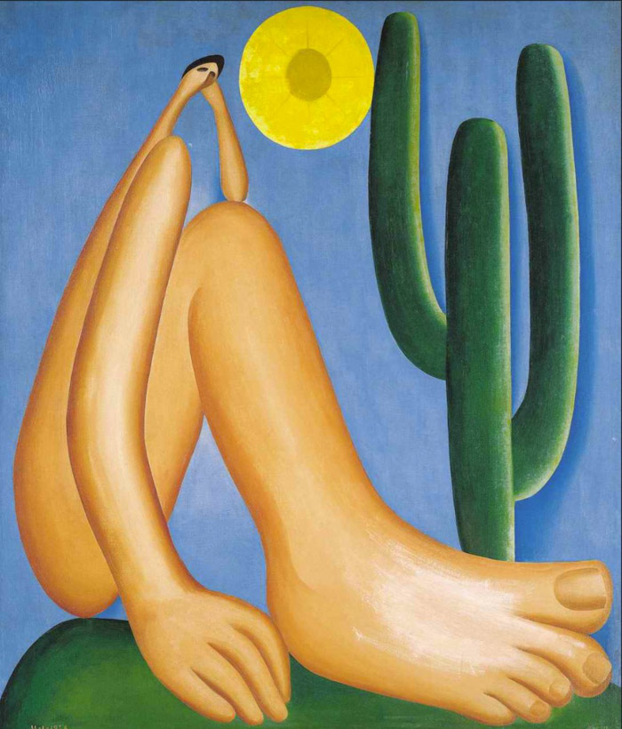 Abaporu, painting from Tarsila do Amaral