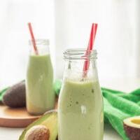 Brazilian avocado smoothie