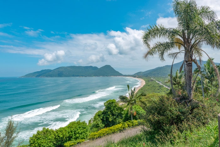 Armação Beach in Florianópolis