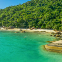 Campeche Island Beach in Florianópolis