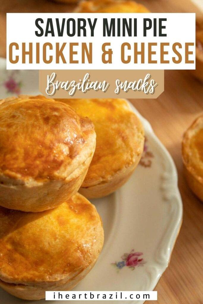 Chicken hand pies Pinterest graphic