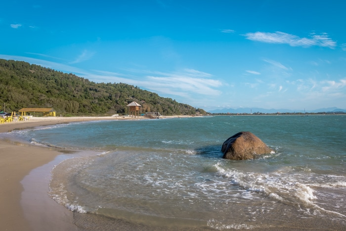 Forte Beach in Florianópolis