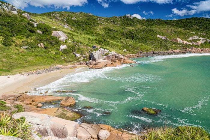 Gravatá Beach in Florianópolis