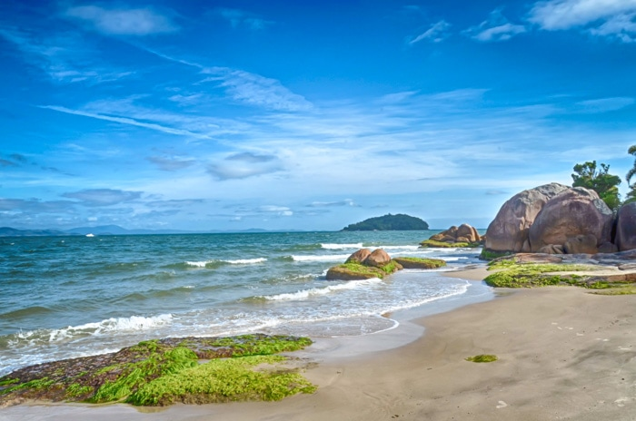 Jurere Beach in Florianópolis