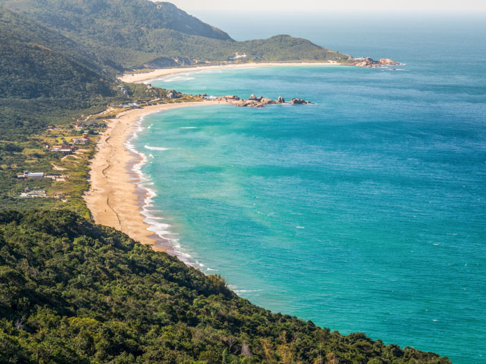 Mole Beach in Florianópolis
