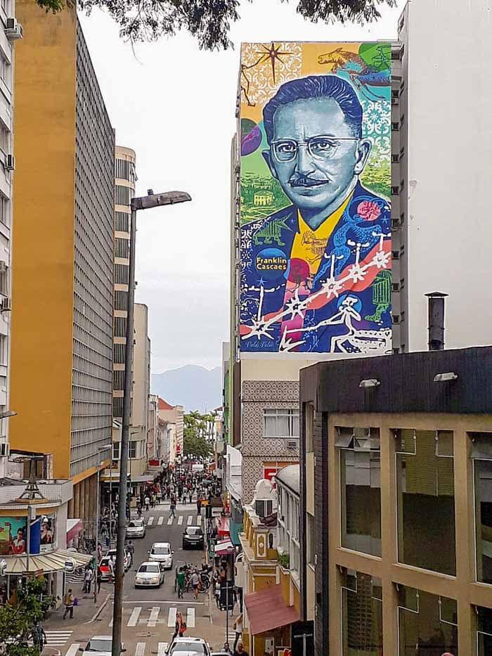 Street art in Florianopolis