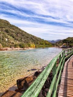 Barra da Lagoa in Florianopolis, Santa Catarina