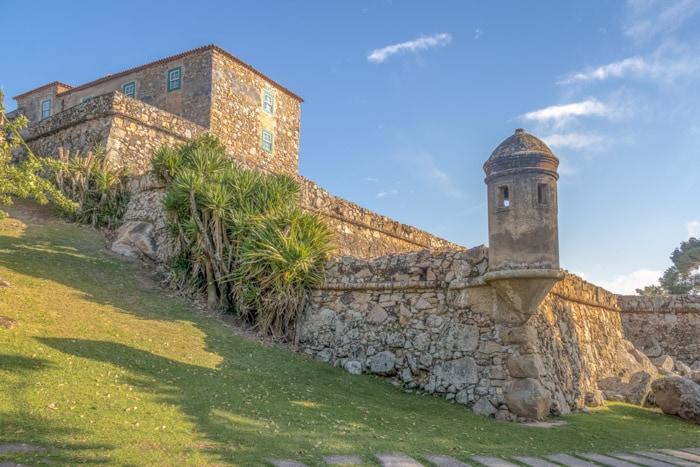 Sao Jose da Ponta Grossa Fortress in Florianopolis