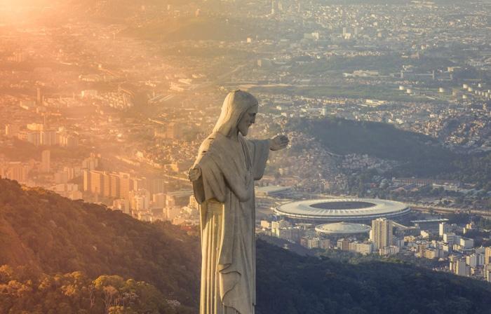 Christ the Redeemer in Rio de Janeiro, Brazil