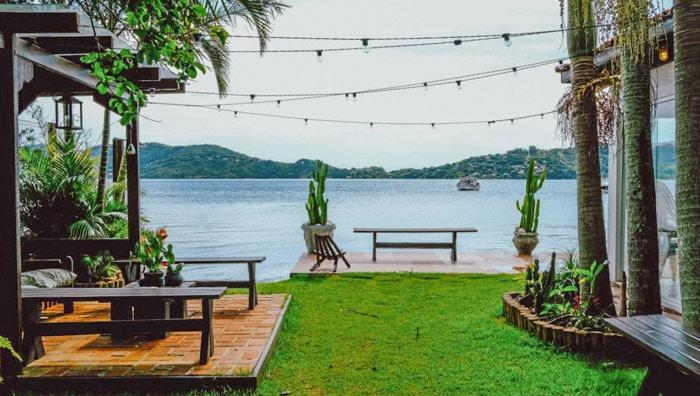 Lagoa Nomade hostel in Florianópolis