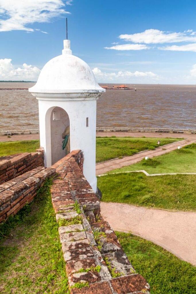 Sao Jose de Macapa Fortress in Amapa