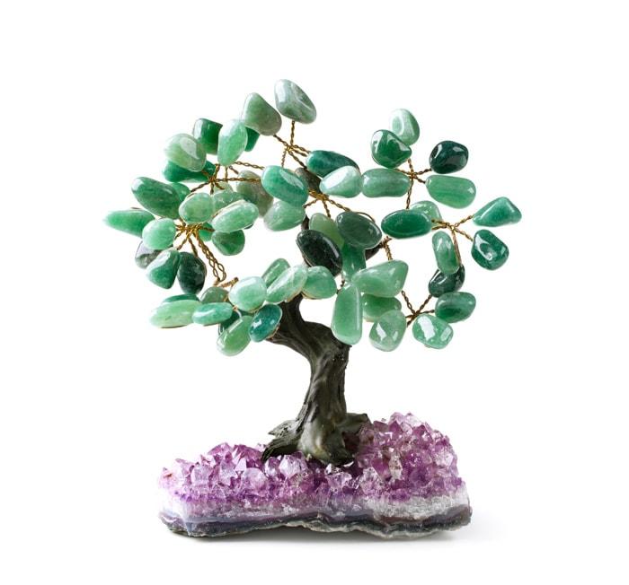 Crystal tree souvenir