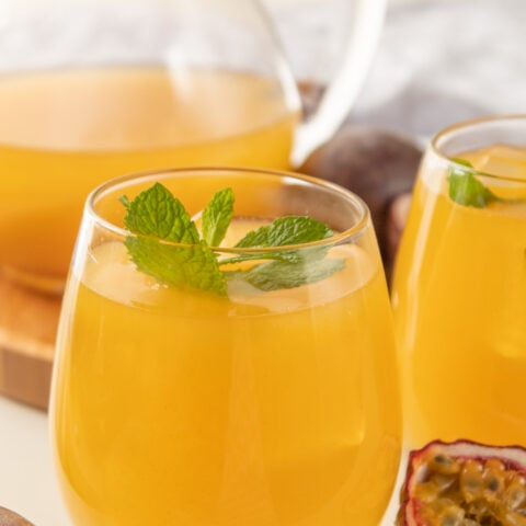 Iced passion fruit tea recipe
