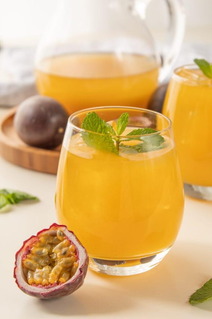 Passion fruit green tea recipe