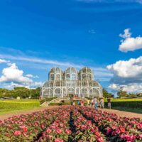 Visiting the Botanical Garden is one of the best things to do in Curitiba, Brazil